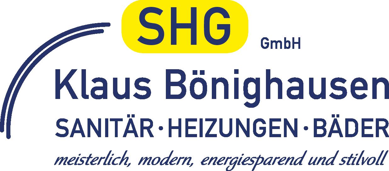 SHG GmbH Klaus Bönighausen Logo