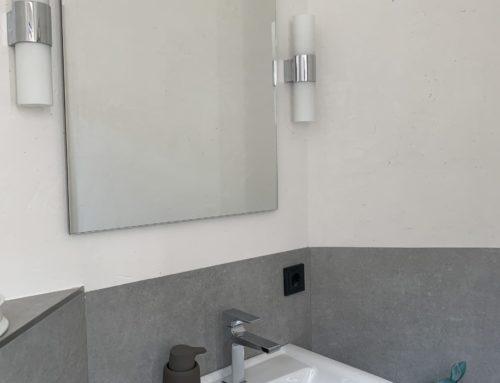 Ein neues Gäste-WC ist fertiggestellt